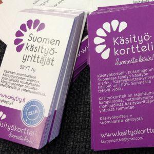 Suomen käsityöyrittäjät SKYT ry ja Käsityökortteli